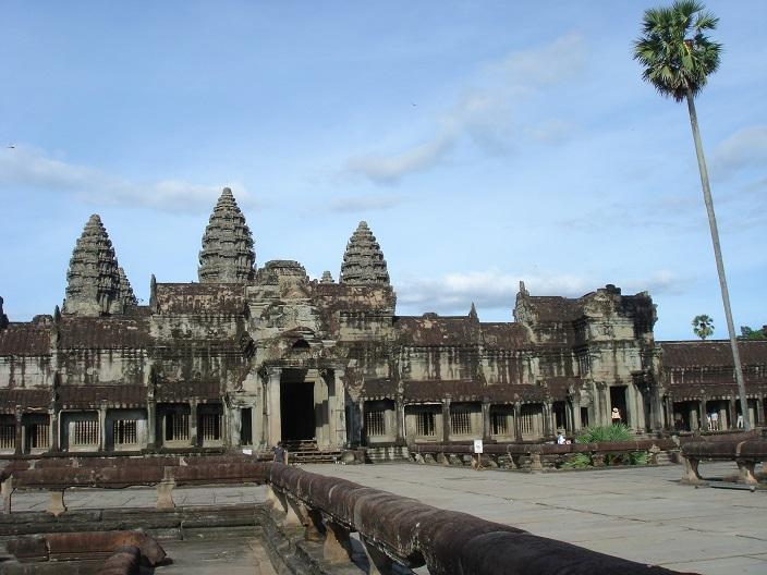Temple bouddhiste d'Angkor Vat