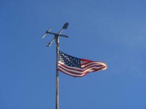 Le drapeau des Etats-Unisaux 13 rayures