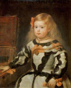 Vélasquez, Portrait de l'Infante Maria Marguerita